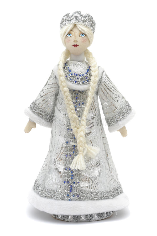 Download Handmade puppet Snowmaiden stock photo. Image of puppet - 11701670