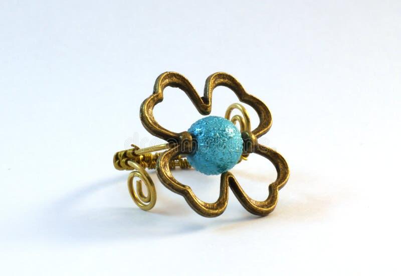 Handmade ring royalty free stock image