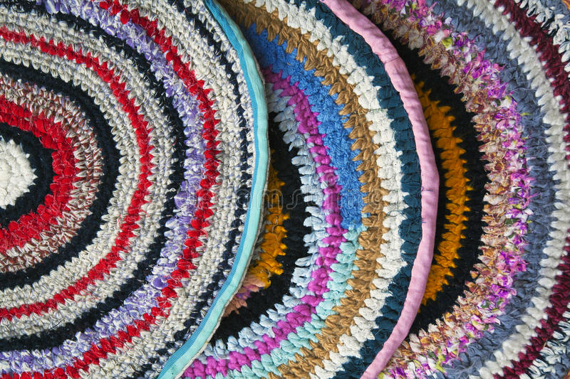 Download Handmade rugs stock image. Image of spiral, blue, nobody - 25007309