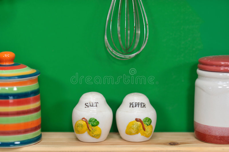 Download Handmade Salt And Pepper Containers Stock Photo - Image: 6784274