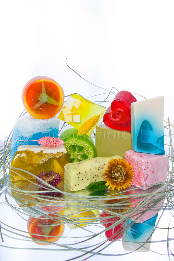 Handmade Soap Bars Stock Images