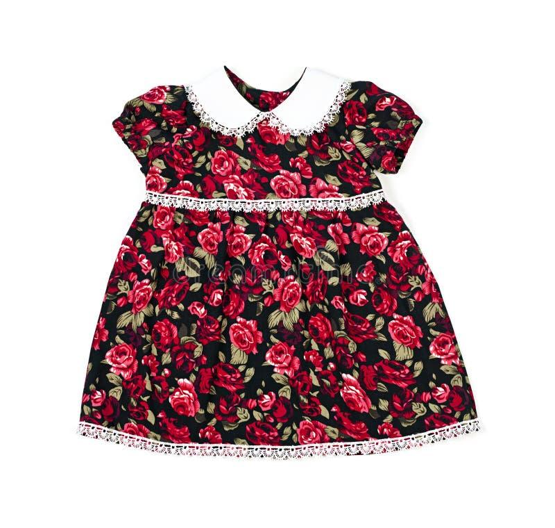 Handmade suknia dla dziewczynki obraz stock