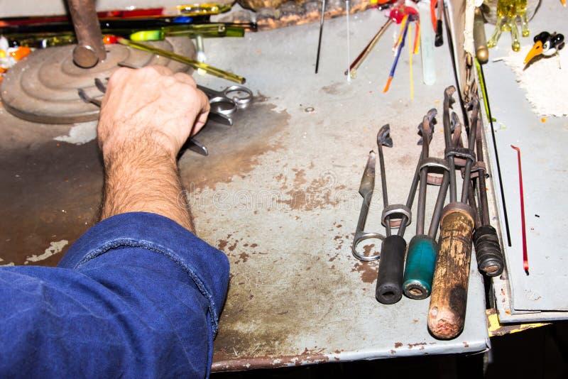 Download Handmade Szklanego Kreatywnie Handwork Figurek Szklani Narzędzia Obraz Stock - Obraz złożonej z świetnie, arte: 53784261