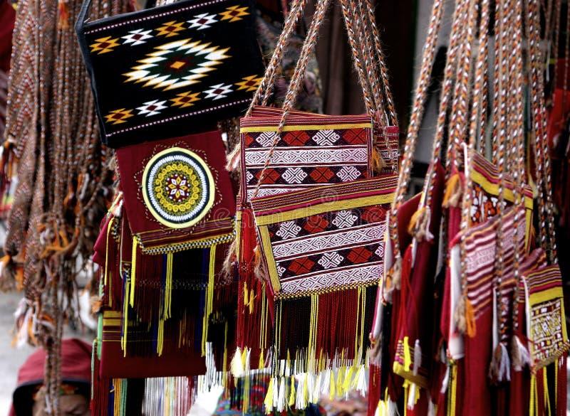 Handmade torby obrazy stock