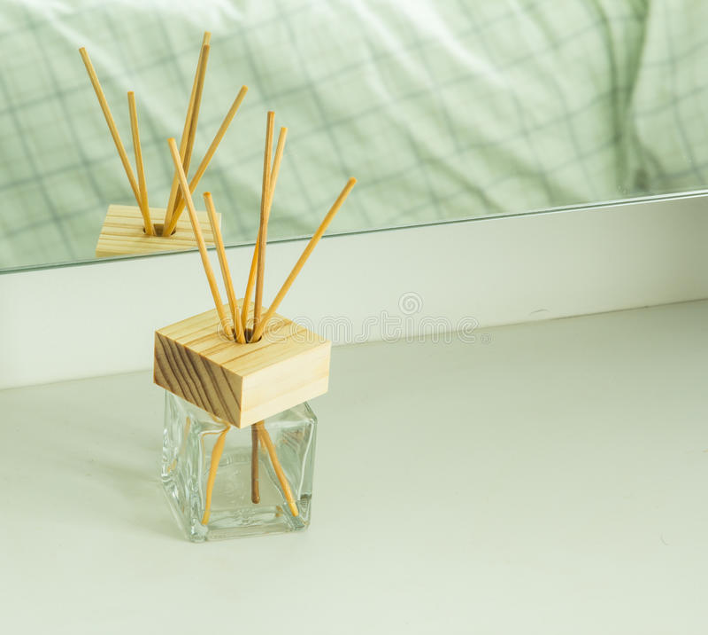 Handmade trzcinowy freshener zdjęcie stock