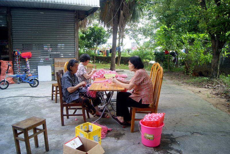 Download A Handmade Women In Shenzhen, China Editorial Stock Photo - Image: 33468243