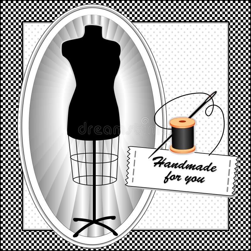 Handmade For You, Black & White Stock Image