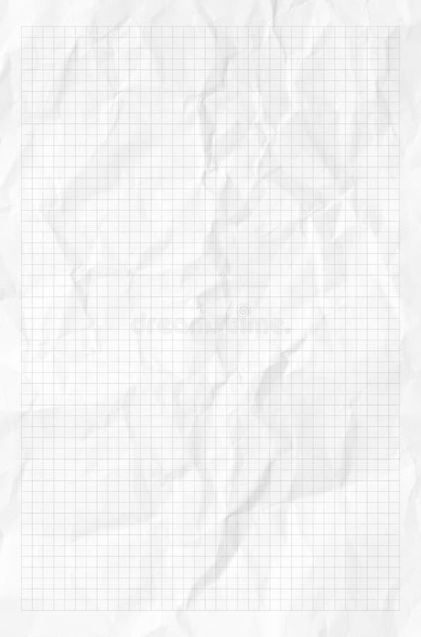 Handmade zmięta papierowa tekstura ilustracja wektor