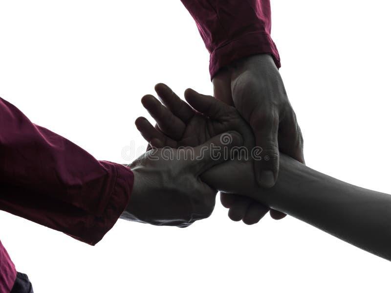 Handmassageterapi royaltyfri foto