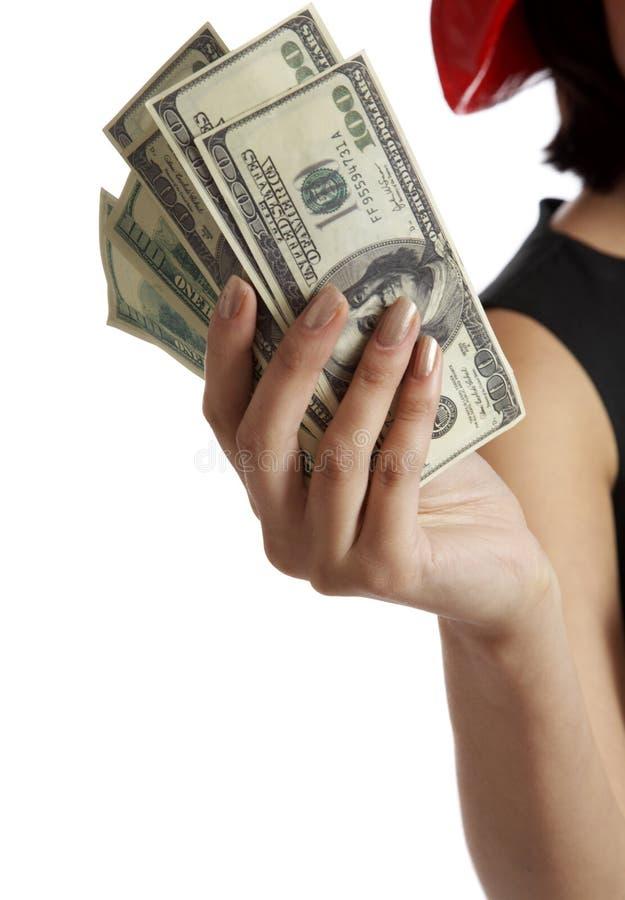 handpengar fotografering för bildbyråer