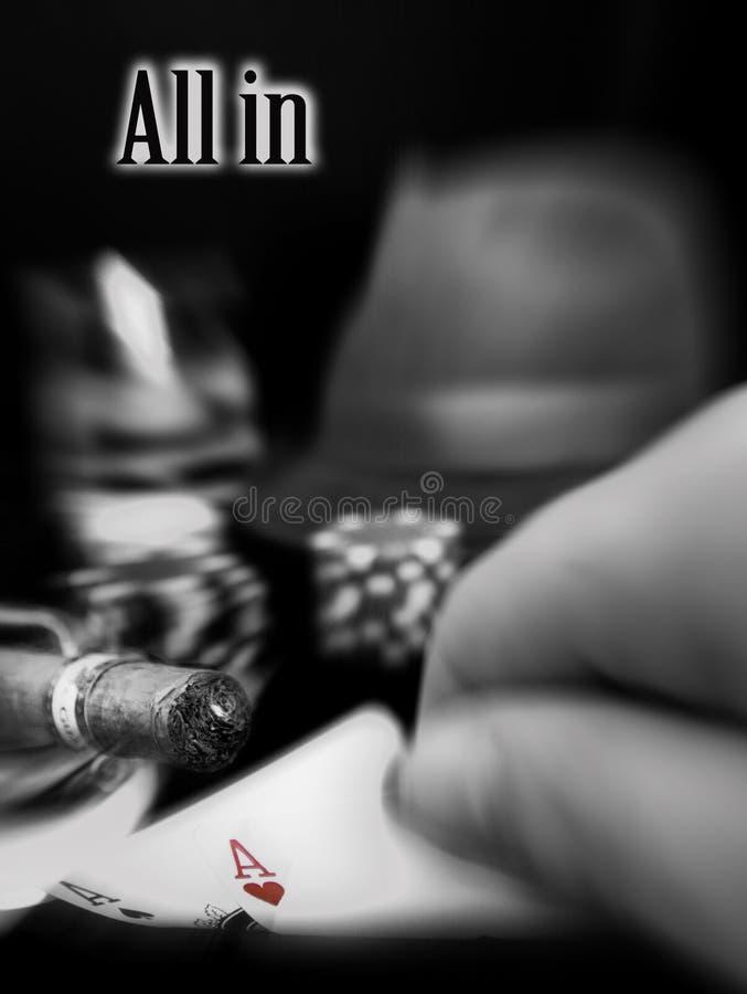 handpoker arkivfoto