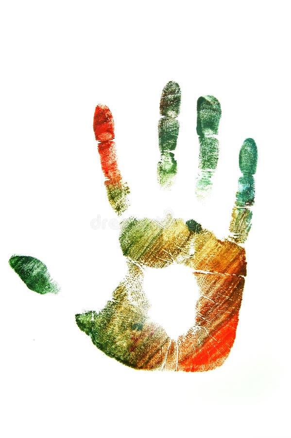 handprint 免版税图库摄影