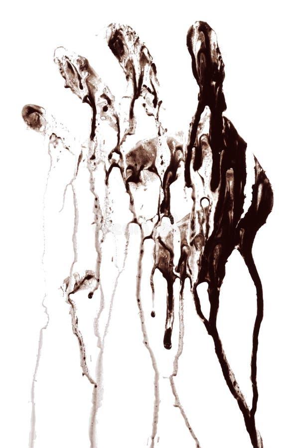 Handprint imagenes de archivo