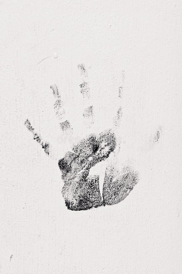 Handprint imagens de stock