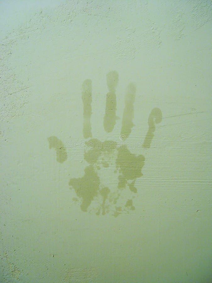 Handprint стоковая фотография rf