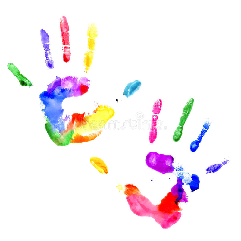 Baby S Handprint Which Paint To Use