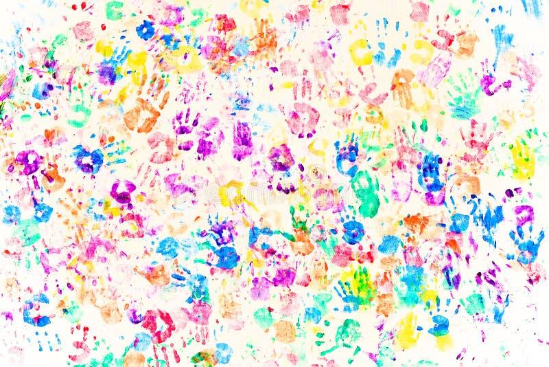handprints стоковые фотографии rf