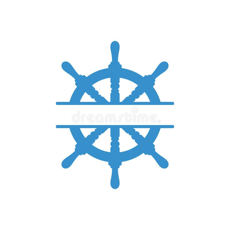 Handradikone Seelenkrad Vektorabbildung getrennt vektor abbildung