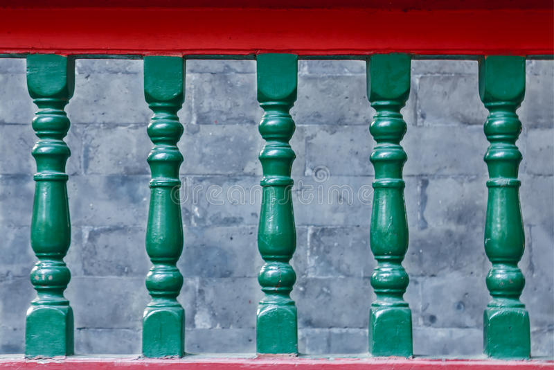 Handrail royalty free stock image