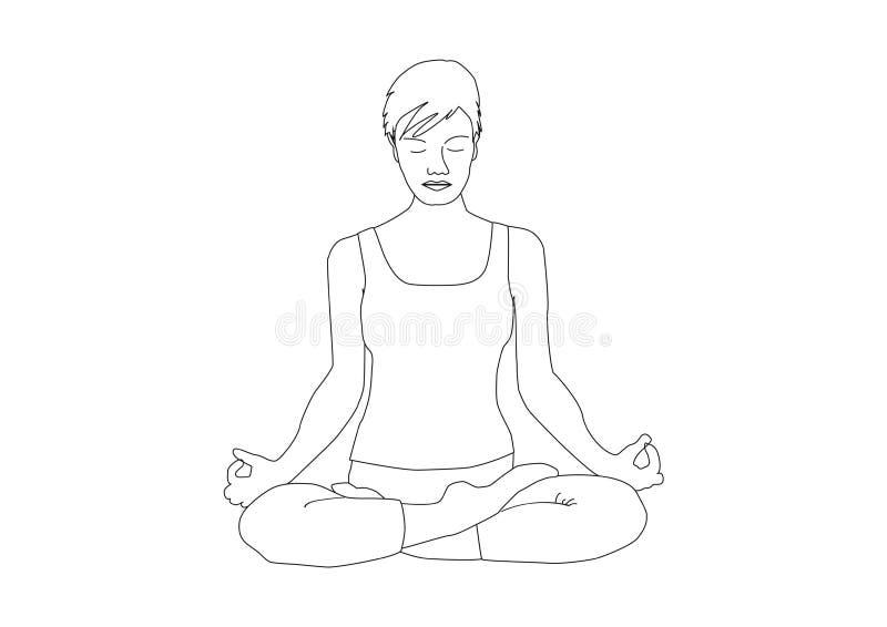 Sitting Position Yoga Black Stock Illustrations 692 Sitting Position Yoga Black Stock Illustrations Vectors Clipart Dreamstime