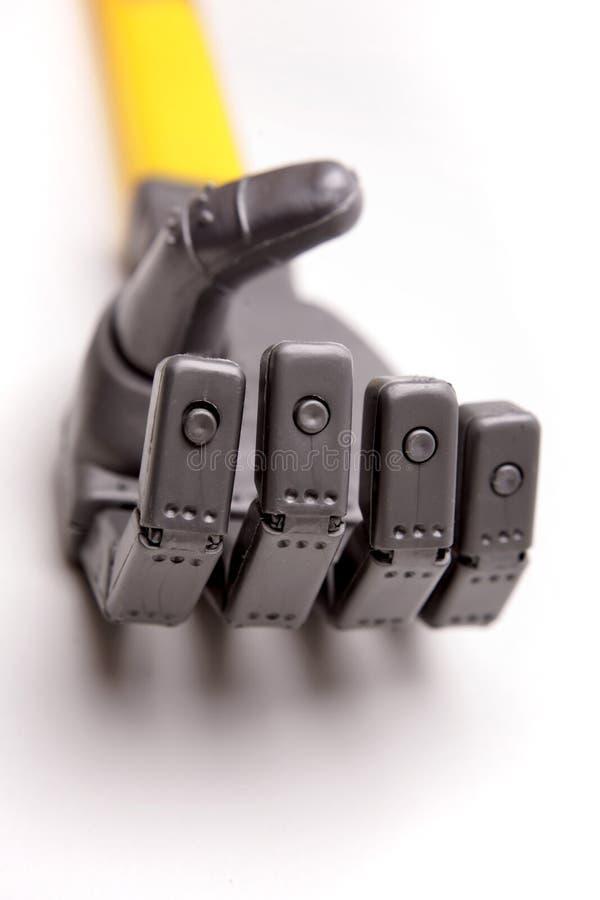 Download Handrobot arkivfoto. Bild av teknik, evolution, robotics - 3546162