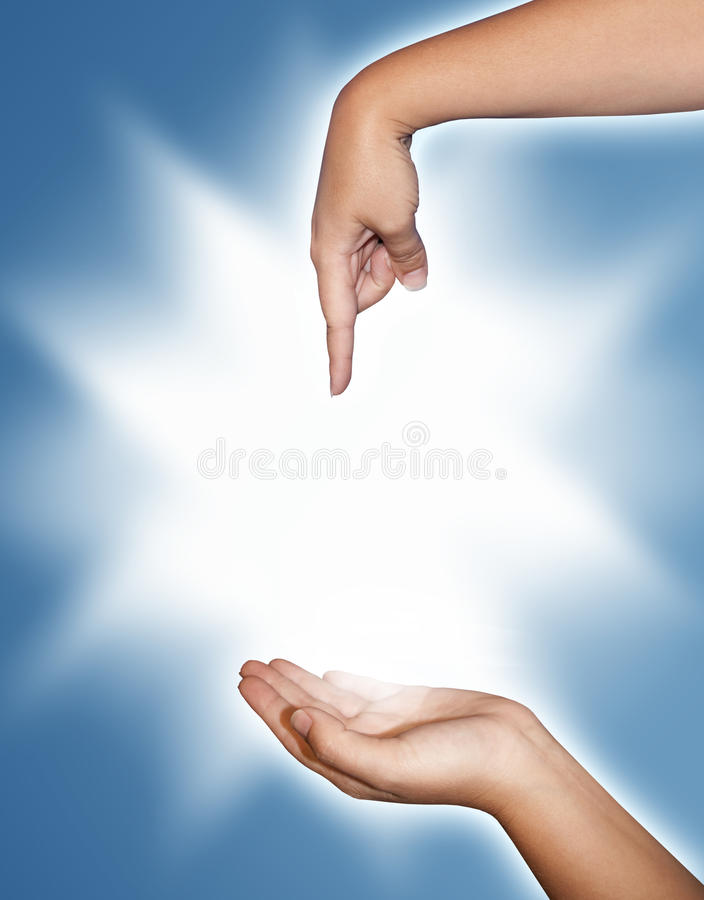 Hands royalty free stock photo