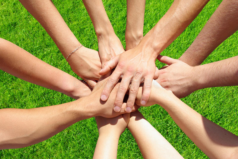 Download Hands stock photo. Image of raised, clasped, confidence - 11303130