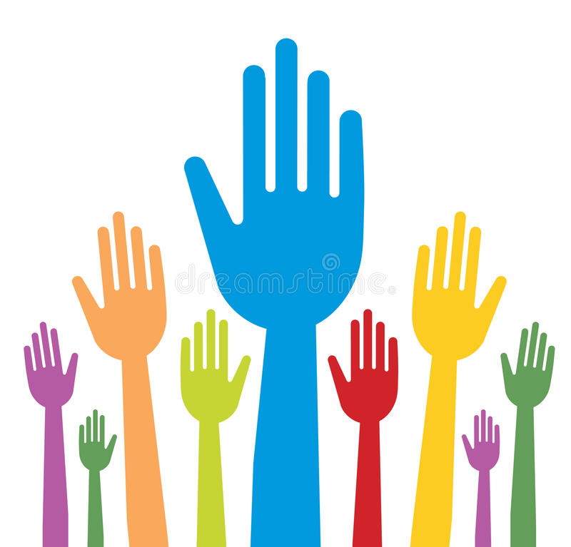 Download Hands stock vector. Image of graphic, election, design - 12078811