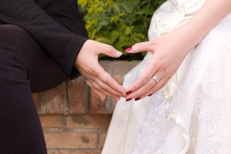 Download Hands stock photo. Image of heart, groom, wedding, bride - 15027796
