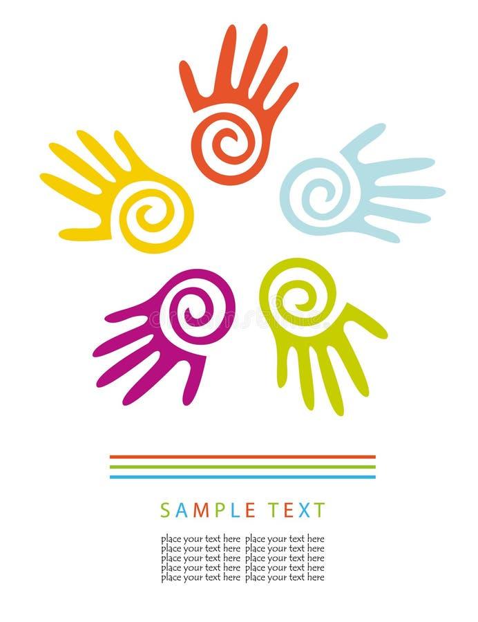 Download Hands stock vector. Illustration of beautiful, beauty - 15830322