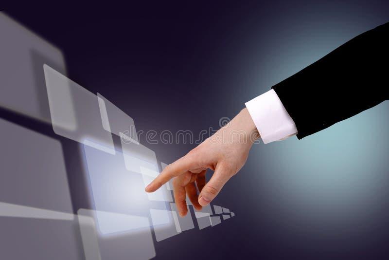 Download Hands stock illustration. Illustration of monitor, desktop - 21880678