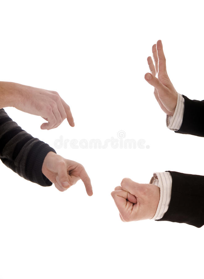 Download Hands stock image. Image of fist, hand, threat, business - 28475865