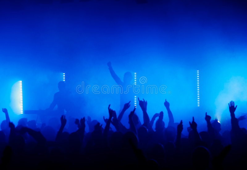 ...hands in the air royalty free stock photos
