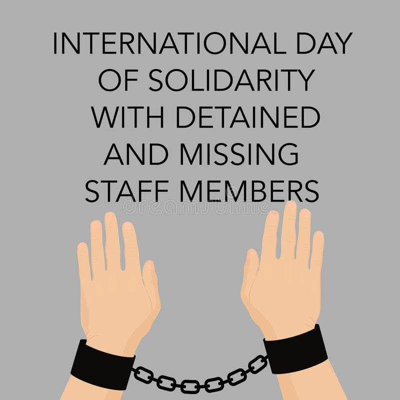 International Day of Solidarity with Detained and Missing Staff Members