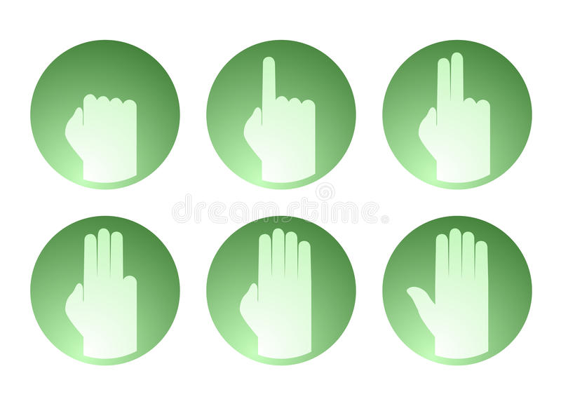 Download Hands Counting Symbol Stock Vector - Image: 83719558