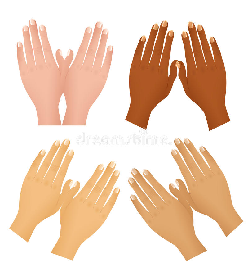 Download Hands Different Nations Royalty Free Stock Photo - Image: 11934145