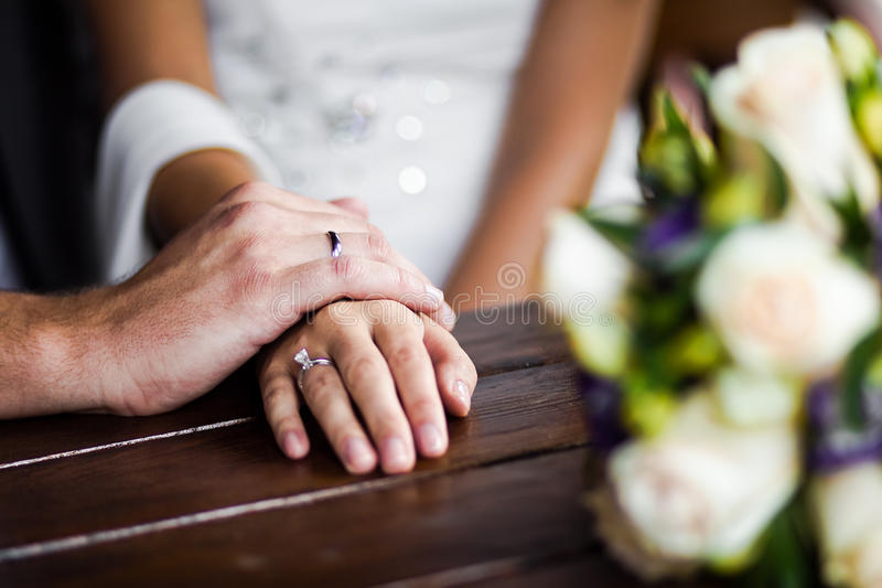 Download Hands enamoured stock photo. Image of groom, commitment - 26269504