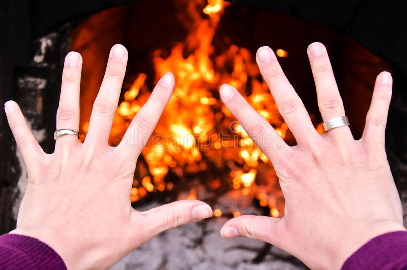 Download Hands on fire stock photo. Image of eternity, energy - 25946716