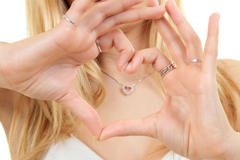 Download Hands Forming Love Heart Shape Stock Photo - Image: 14434582