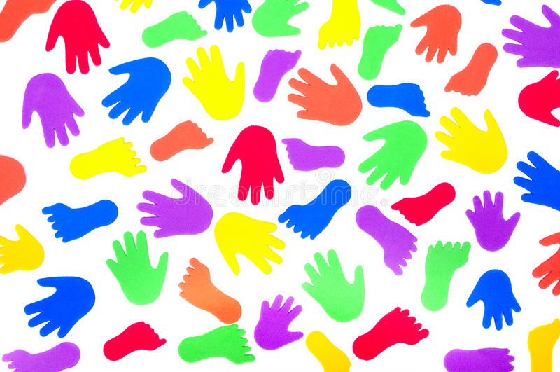 hands foten datalista etiketter royaltyfria foton