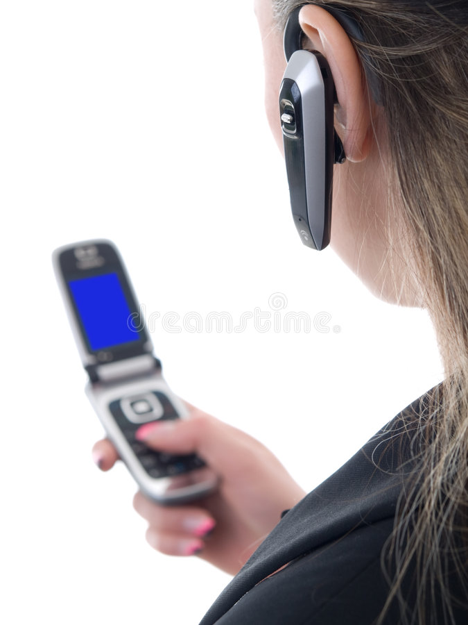 Hands-free royalty free stock photo