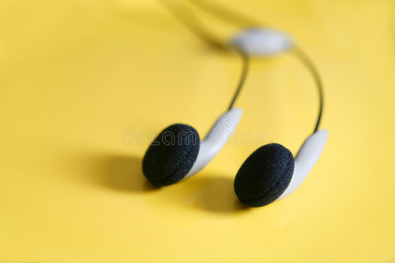 Hands-free Earphones stock photography