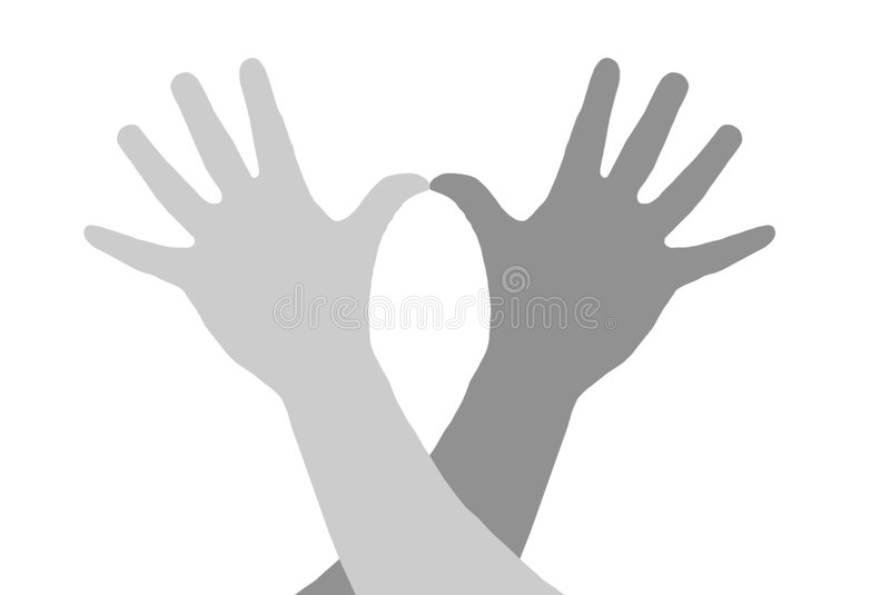 Hands and gestures. stock photography