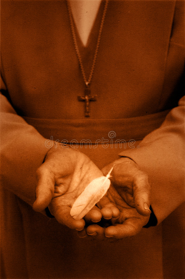 Hands Of Grace (9) stock image