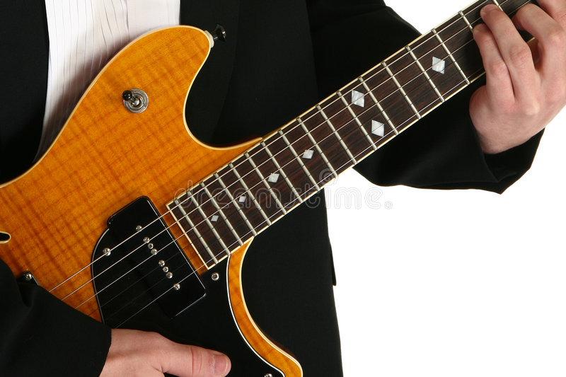 Download Hands on a Guitar stock photo. Image of music, learn, skill - 3742824