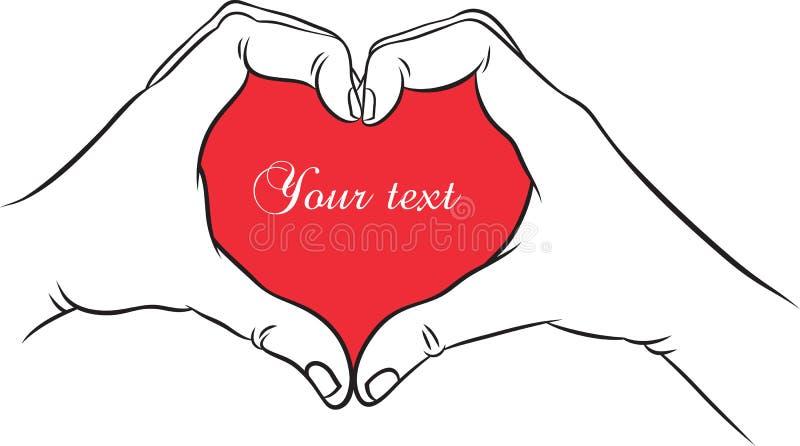 Download Hands heart stock vector. Image of love, brasil, element - 39115067
