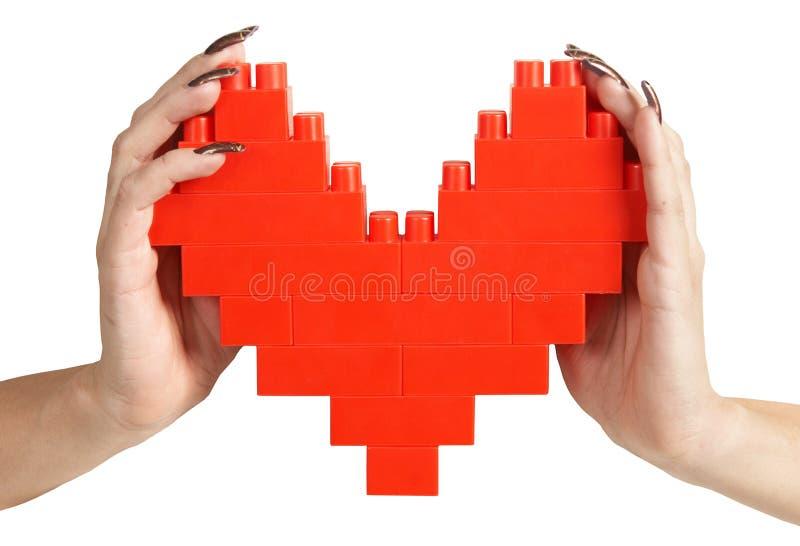 hands hjärtaholdingkvinnan fotografering för bildbyråer