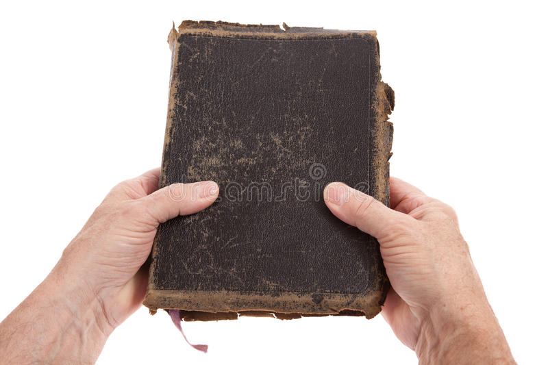 Download Hands holding a Bible stock photo. Image of black, background - 23033814