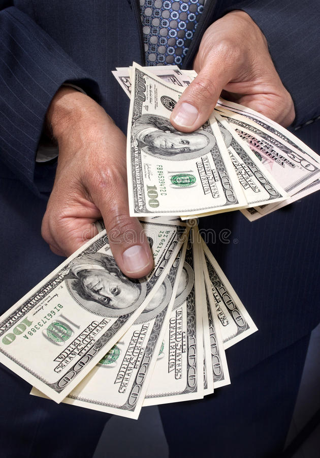 Download Hands Holding Dollars Money Royalty Free Stock Images - Image: 22870889