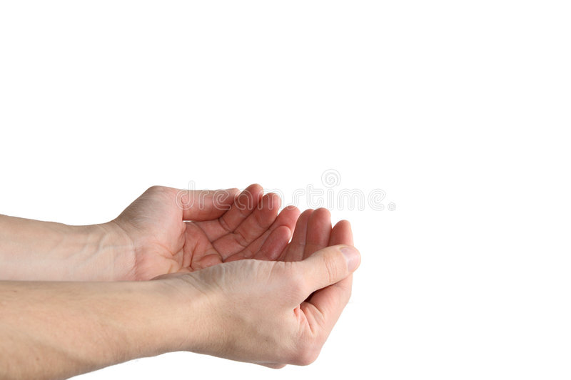 Download Hands Holding Invisible Object Stock Image - Image of hold, thumb: 4487083